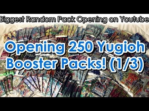 Yugioh 250 Pack Opening!! (Biggest Random Pack Opening So Far) [1/3]