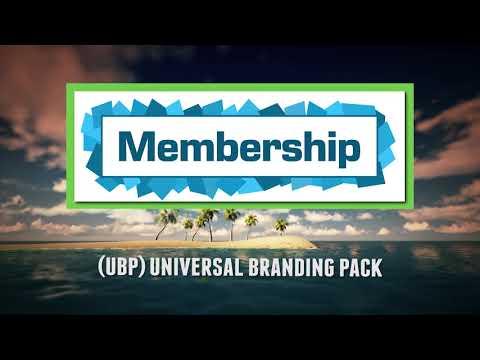 California Canopy: Universal Branding Pack