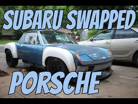 My Project Car Start to Finish | Subaru Swapped Porsche Full Build