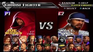 Def Jam Vendetta - Joe VS Method Man