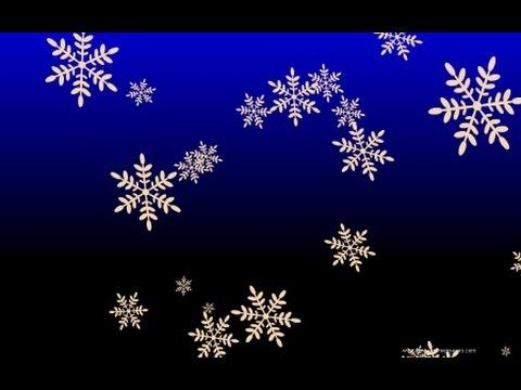 Новогодний футаж на хромокее падающие снежинки скачать бесплатно