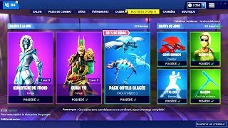 BOUTIQUE FORTNITE du 9 Fevrier 2019 ! ITEM SHOP February 9 2019 !