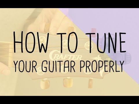 Beginner Guitar Lessons  Step 1b  How to tune your guitar  free beginner guitar course book