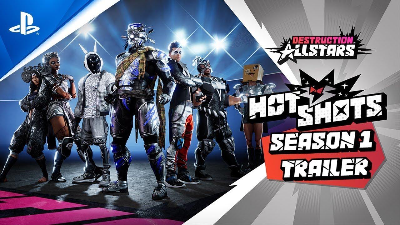 Destruction AllStars - Season 1 - Hot Shots Trailer s CZ titulky l PS5