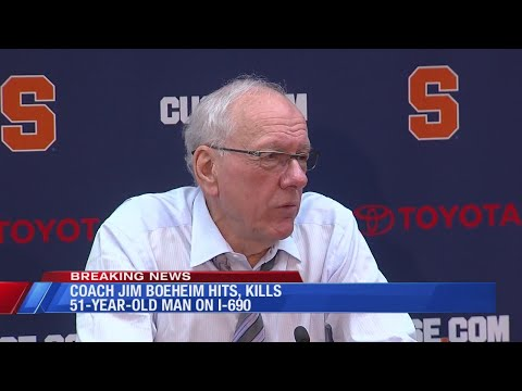 Pedestrian hit, killed by SU coach Jim Boeheim