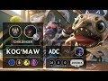Kog'Maw ADC vs Kai'Sa - EUW Challenger Patch 9.20