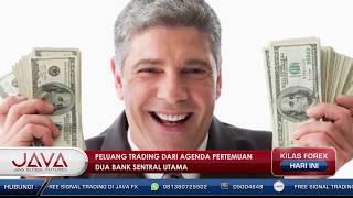 Peluang Trading Dari Agenda Pertemuan Dua Bank Sentral Utama - Kilas Forex