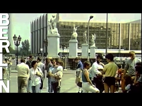 Ost-Berlin zu DDR-Zeiten, 80er Jahre