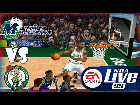 Nba Live 99 Dallas Mavericks-Boston Celtics Season