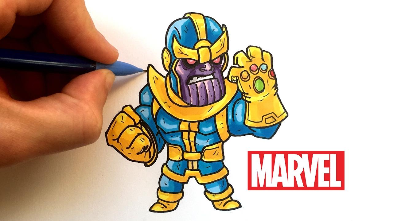 Dessin Thanos Chibi Avengers Youtube