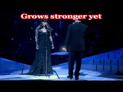 KARAOKE The Phantom of the opera   Sarah Brightman & Antonio Banderas