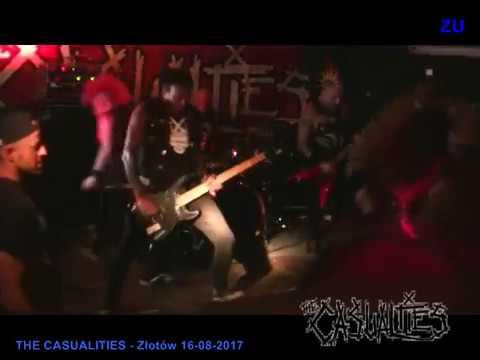 The Casualties -Złotów 16 08 2017