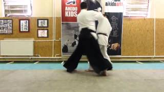 aihanmi katatedori ikkyo ura [TUTORIAL] Aikido basic technique