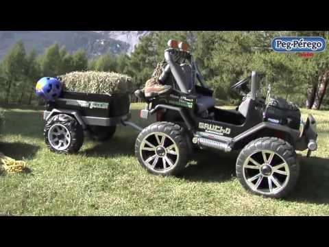 Peg Perego Gaucho Süper Power Akülü Jeep