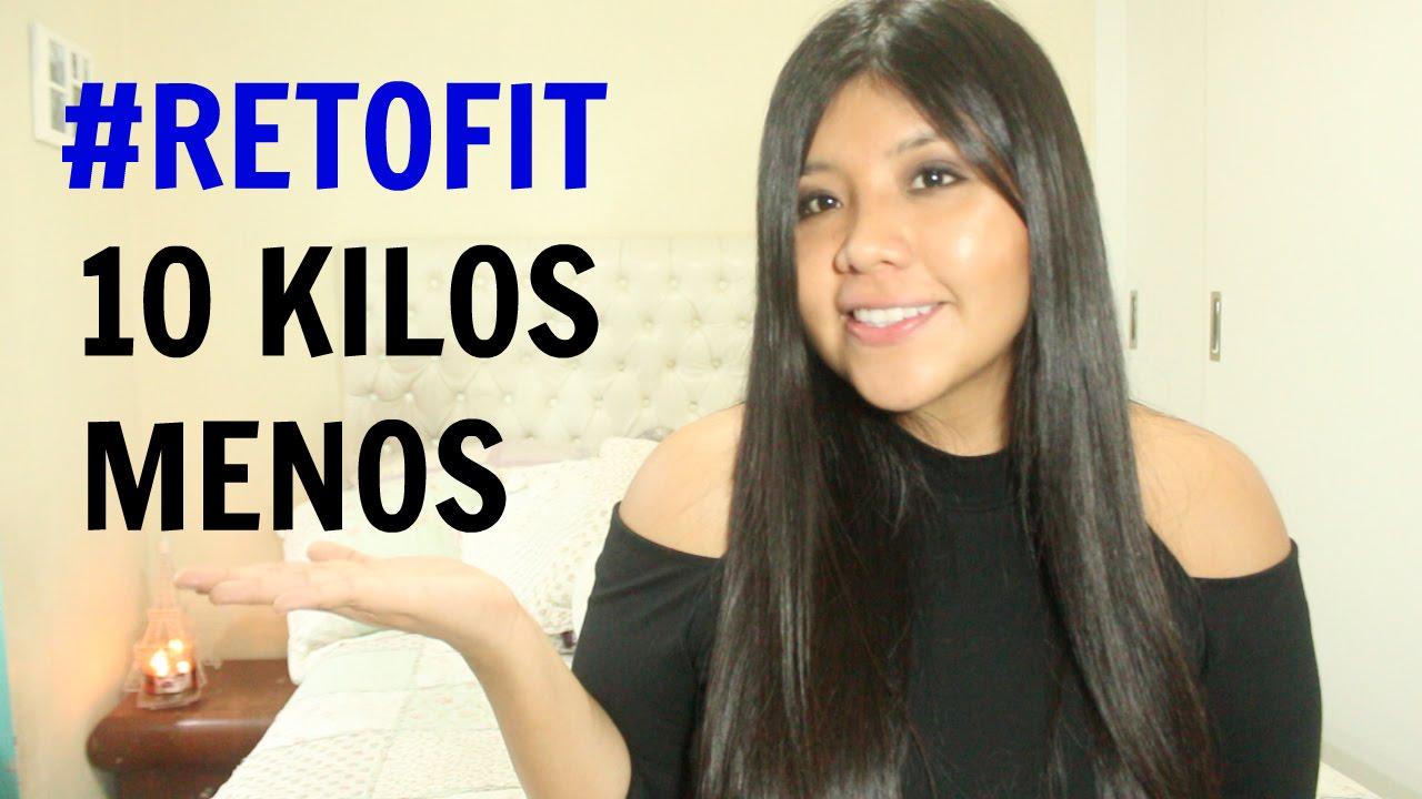 10 KILOS MENOS EN 1 MES #RETOFIT ♡ Kariniwiii