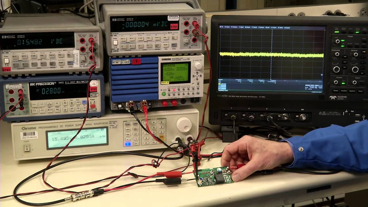 Engineer It How To Test Power Supplies Measuring Noise Youtube Regulated Supply Composed Of Mpc1000 Powersupplycircuit