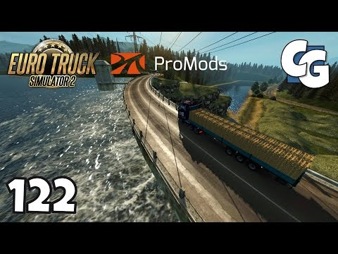 Euro Truck Simulator 2 - Ep. 122 - Spring has Arrived! - ETS2 ProMods 2.15 Gameplay