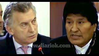 Evo Morales dejó en offside a Macri con su categórica intervención en la Cumbre de las Américas