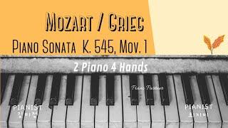 Mozart/Grieg : Piano Sonata no…