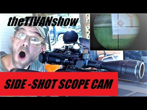 BACK YARD PELLET FUN with SIDE-SHOOT SCOPE CAM and  you can record your target placement #TEAMLIVE