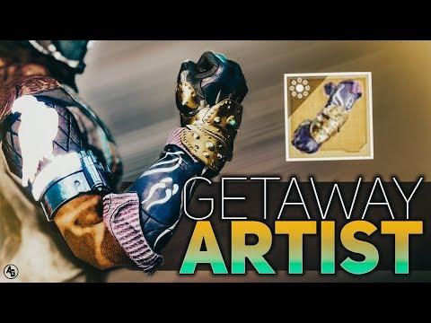 Destiny 2   Getaway Artist (Warlock Exotic Gauntlets) SEASON of the Drifter