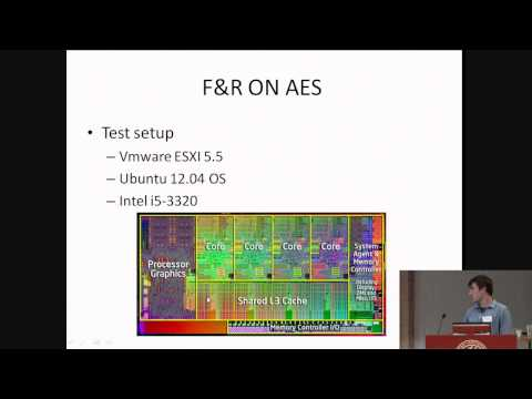 Wait a minute! A fast, Cross-VM attack on AES