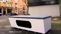 Homeless shelter removed from street by Belfast City Council