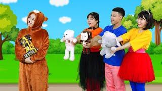 Sharing Bear Song   Kids songs with lyrics - HahaSong HS66