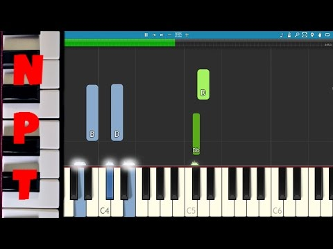 How to play Secret Love Song on piano - EASY Piano Tutorial - Little Mix & Jason Derulo