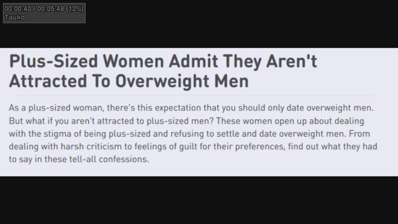 women attracted to fat men