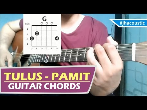 TULUS - PAMIT CHORDS / Guitar Tutorial