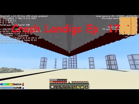 Deltaplano, SI VOLAAAAA - Crash Landings Ep. 16 - FTB ITA Minecraft