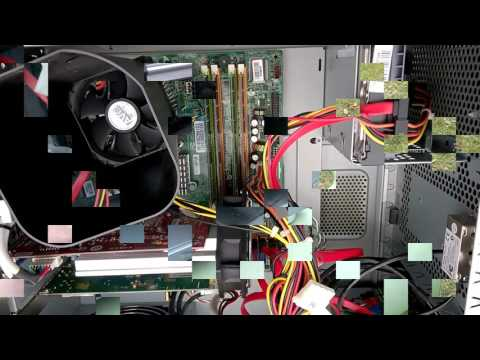 How to dust clean a PC with compressed air