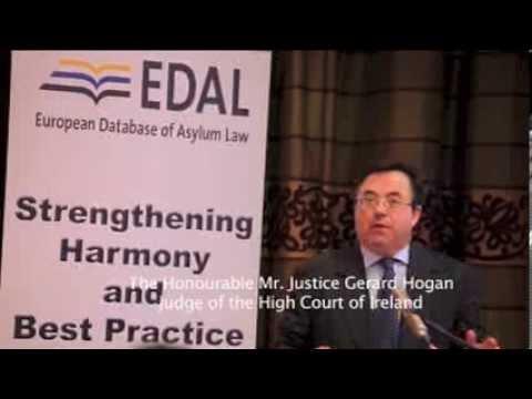 #EDAL: The Hon. Mr. Justice Gerard Hogan, Judicial oversight of EU asylum law at the national level