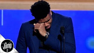scottie pippen reacts to giannis mvp speech touching and amazing the jump