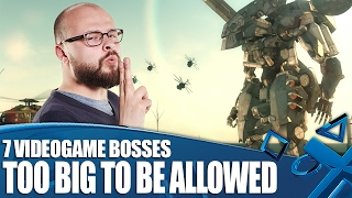 7 Videogame Bosses So Massive They Shouldn