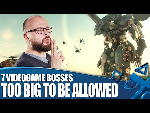 7 Videogame Bosses So Massive They Shouldn't Be Allowed