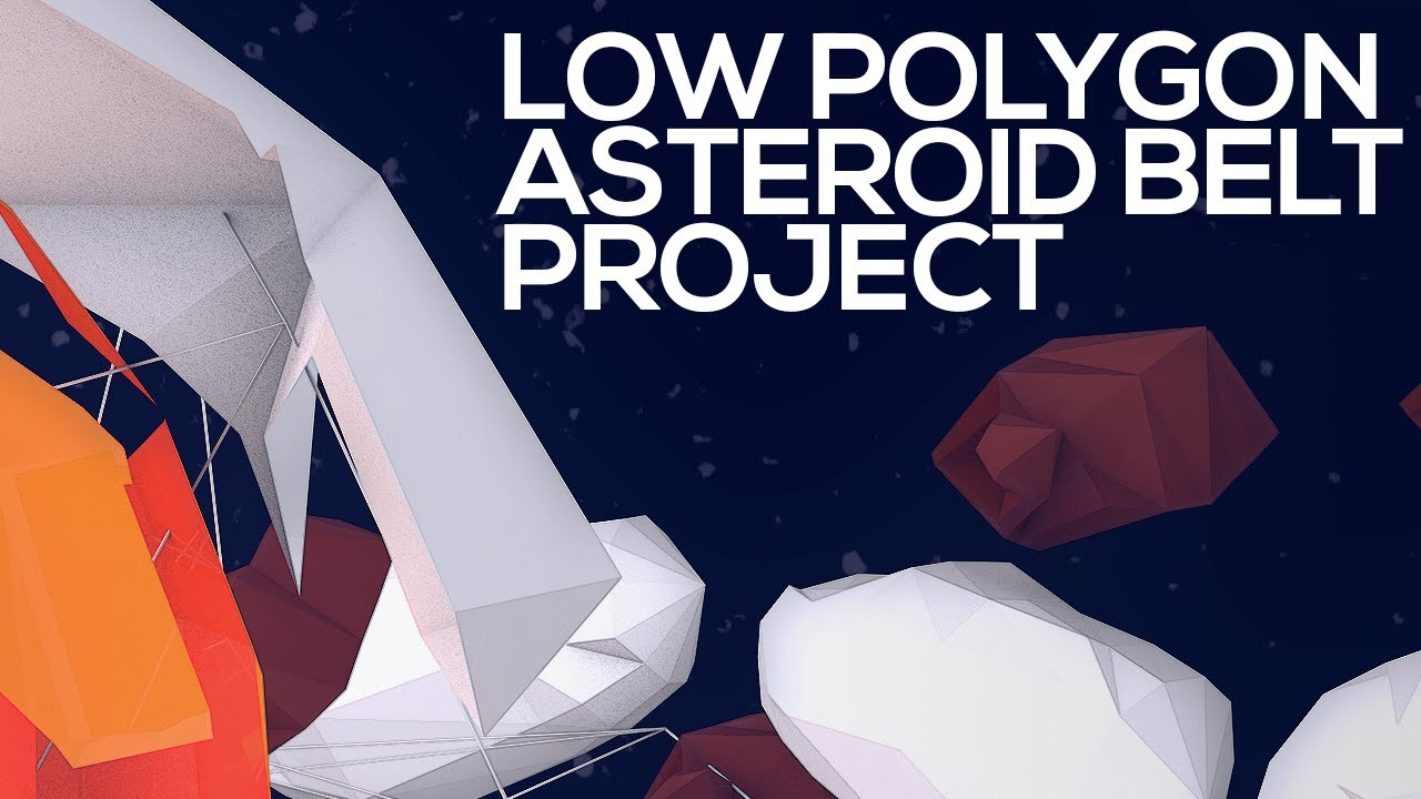 Asteroid Belt Low Polygon Project Wallpaper Youtube Images, Photos, Reviews
