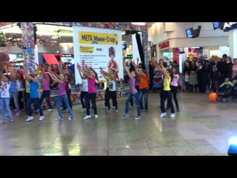 Детский танцевальный флэшмоб в Москве