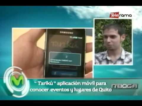 Tariku aplicación móvil para conocer eventos y lugares de Quito