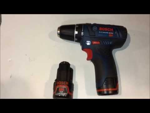 Bosch 12V Lithium ION Drill Review PS31