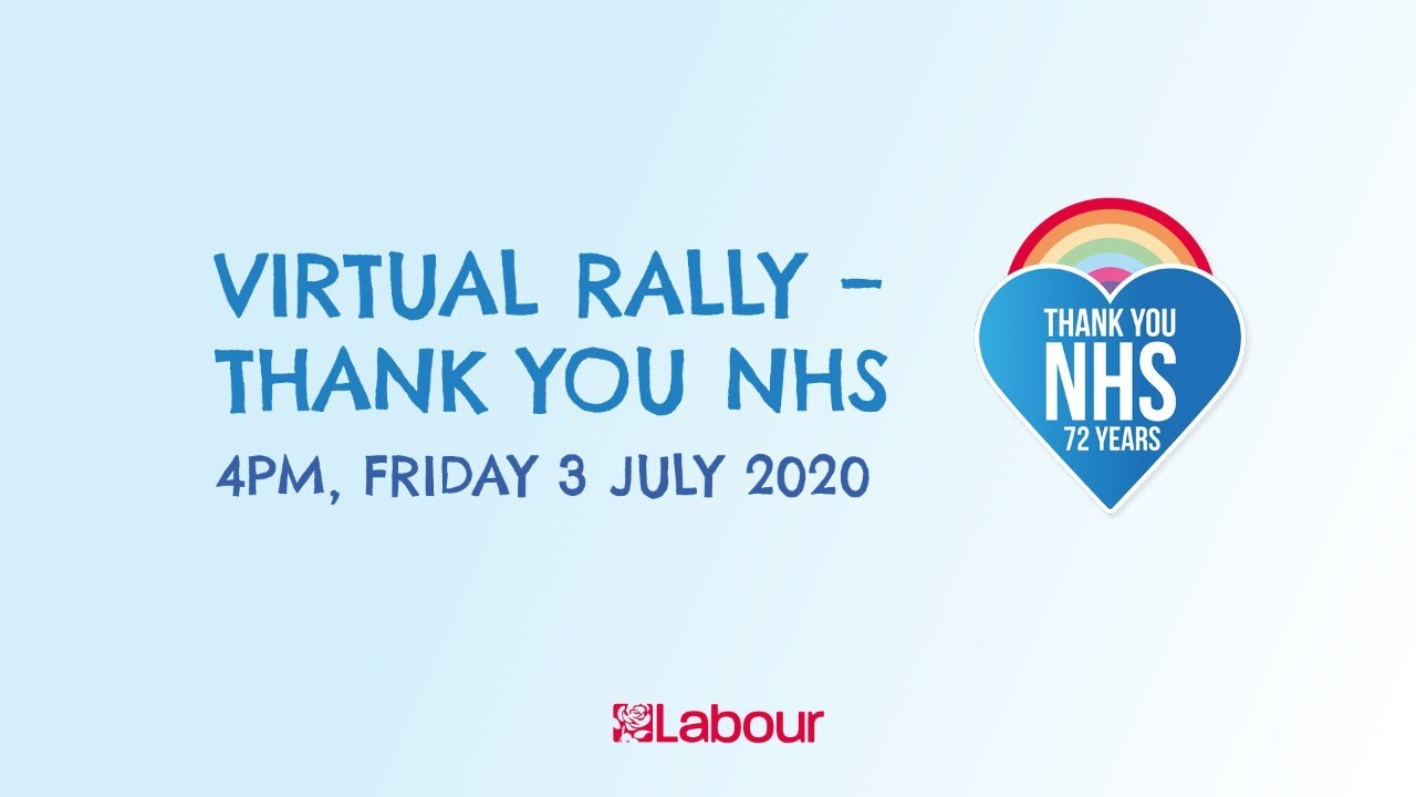 Virtual Rally - Thank You NHS!