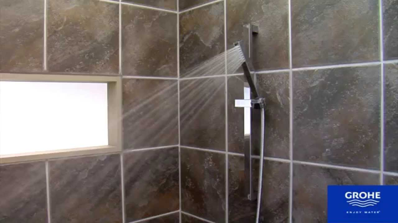 Grohe 27891000 Euphoria Cube Shower Set Youtube