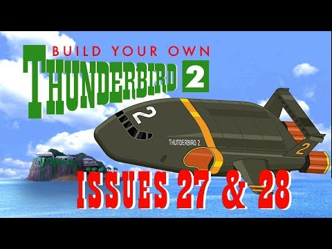 DeAgostini Build Your Own Thunderbird 2 Issues 27 & 28: New glue... and lots of it!