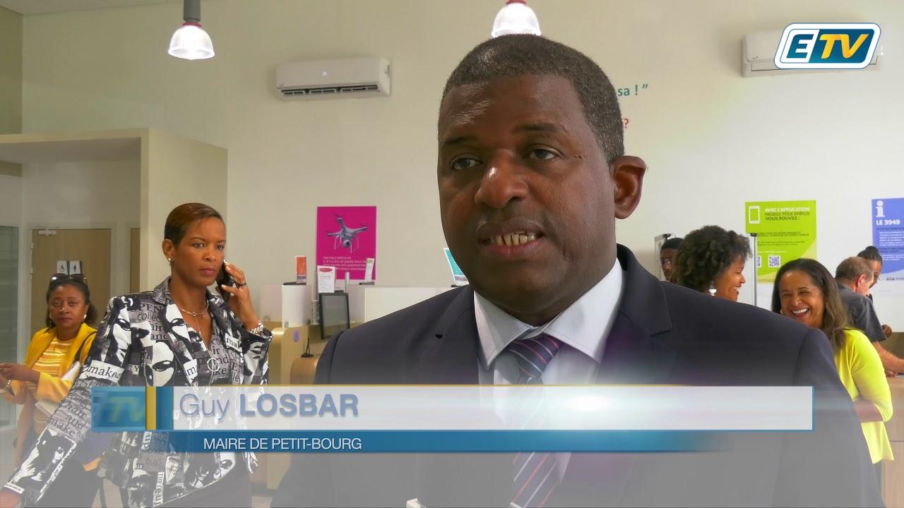La population de Petit-Bourg et de Goyave dotée d'une nouvelle agence Pôle emploi