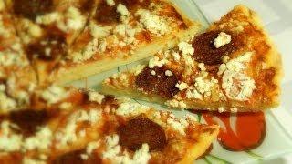 Как приготовить пиццу быстро дома.Как приготовить пиццу быстро! Выпечка.(Как приготовить пиццу быстро дома.Как приготовить пиццу быстро!!!!! Самое любимое у нас итальянское блюдо..., 2014-01-17T16:59:46.000Z)