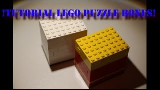 Lego - Tutorial Puzzle Boxes!!
