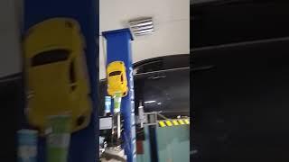 Лексус is250 замена сальника привода и ремонт подвески.