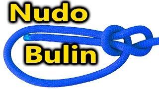 Nudo Bulin, As de guía, Bowline Knot.