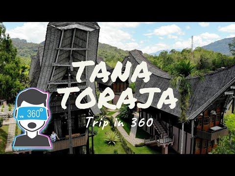 TANA TORAJA Trip in 360 #VlogAriel #ArielNoah #360